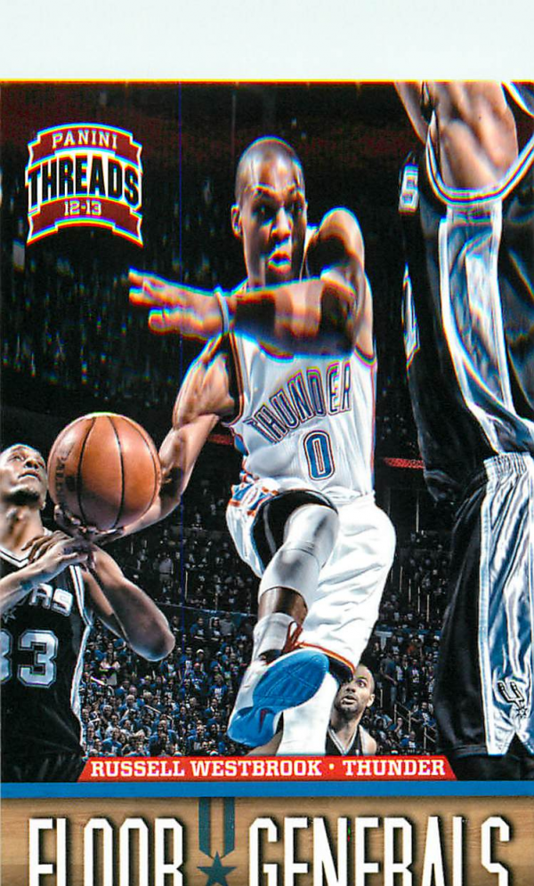 2012-13 Panini Threads Floor Generals #6 Russell Westbrook