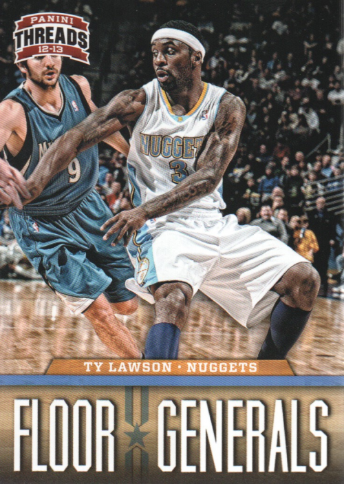 2012-13 Panini Threads Floor Generals #9 Ty Lawson