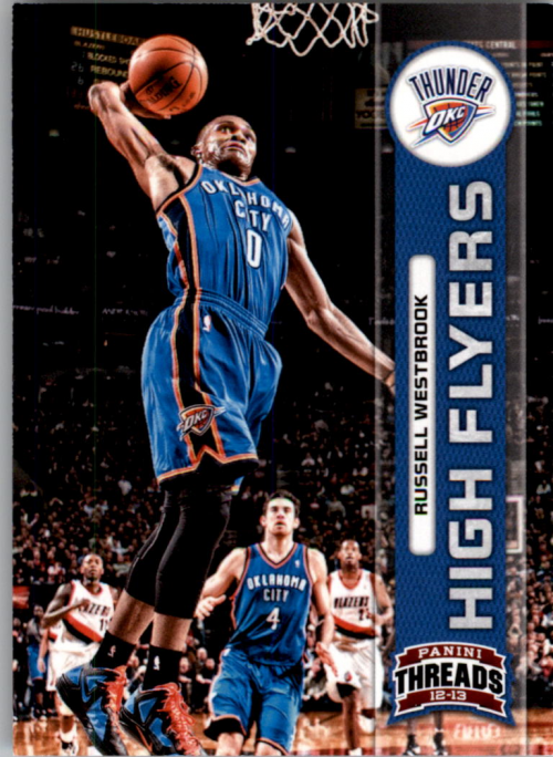 2012-13 Panini Threads High Flyers #5 Russell Westbrook