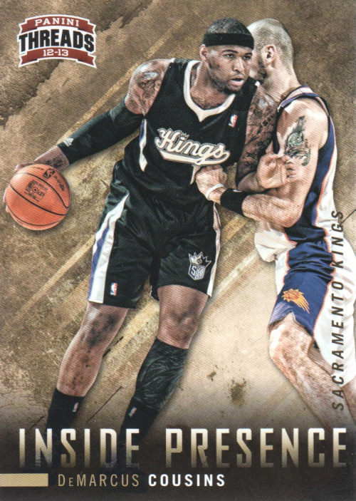 2012-13 Panini Threads Inside Presence #9 DeMarcus Cousins