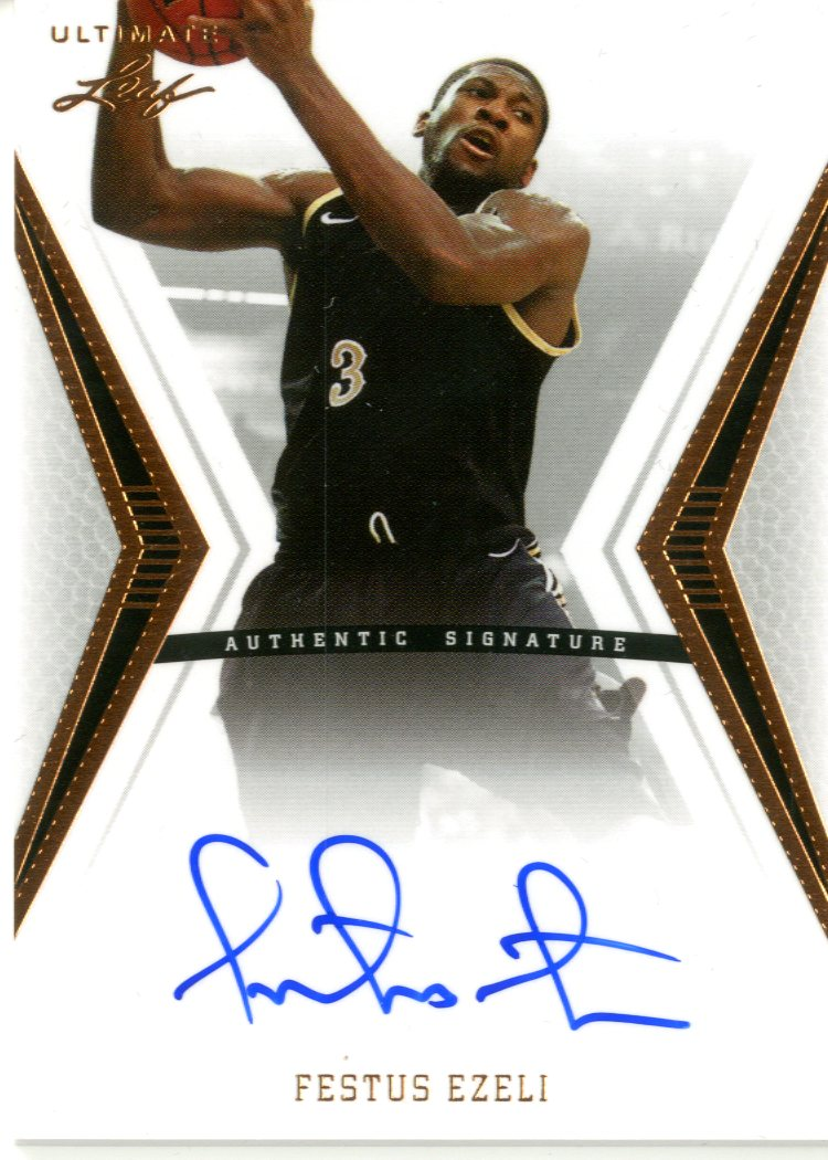 2012-13 Leaf Ultimate #FE1 Festus Ezeli
