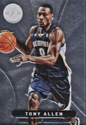 2012-13 Totally Certified #4 Tony Allen