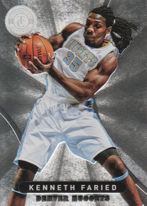 2012-13 Totally Certified #6 Kenneth Faried RC