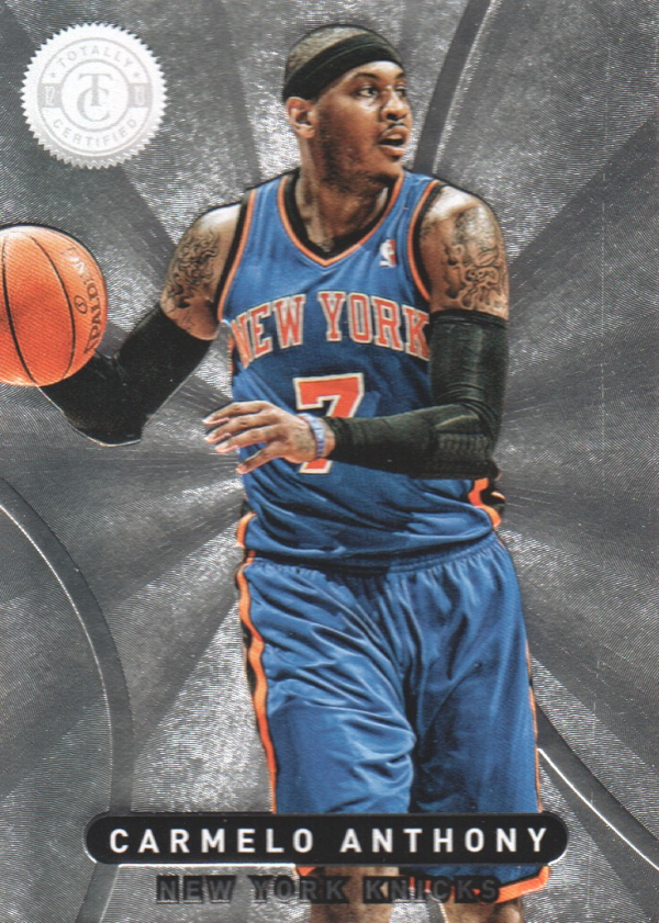 2012-13 Totally Certified #7 Carmelo Anthony