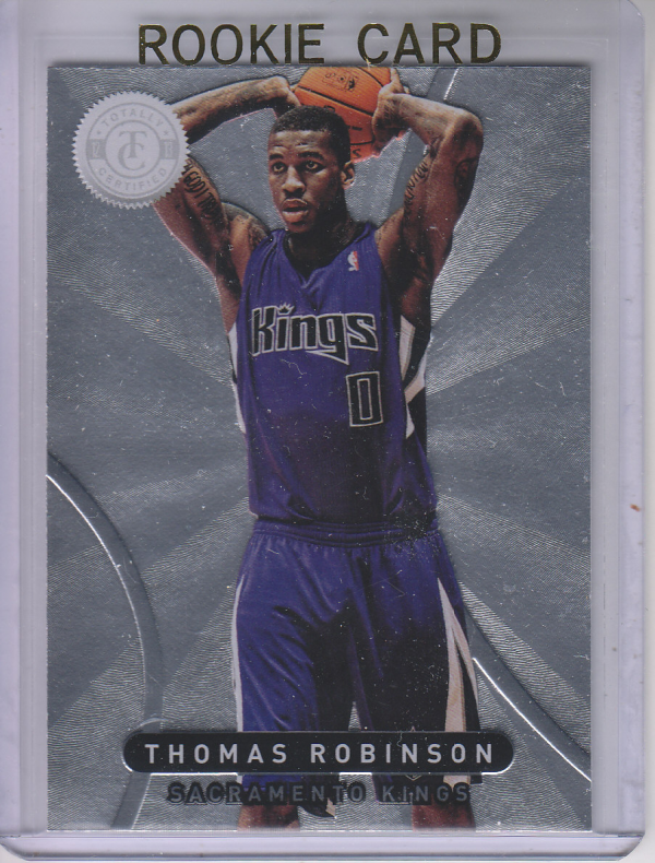 2012-13 Totally Certified #10 Thomas Robinson RC