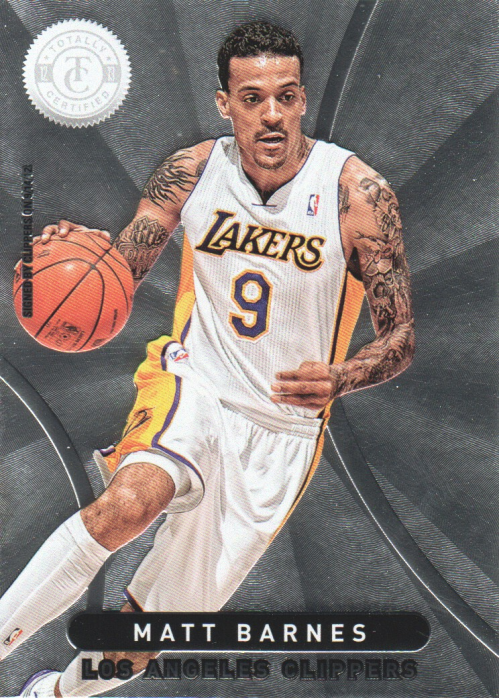 2012-13 Totally Certified #14 Matt Barnes