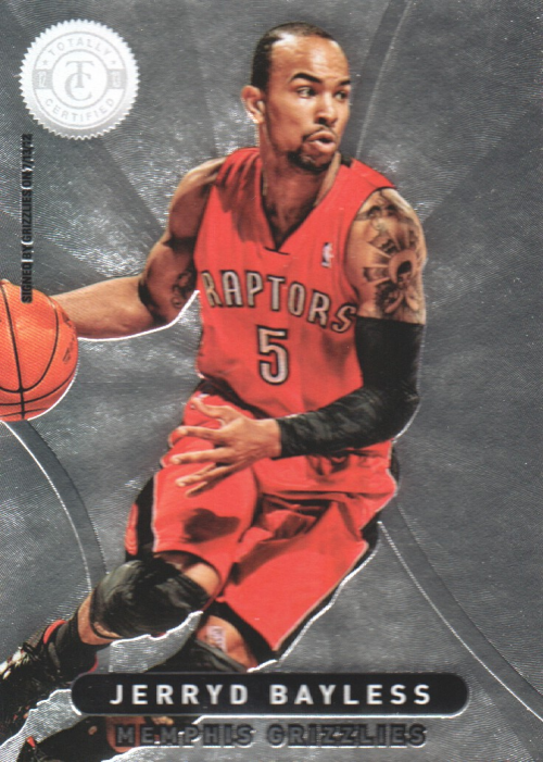 2012-13 Totally Certified #17 Jerryd Bayless