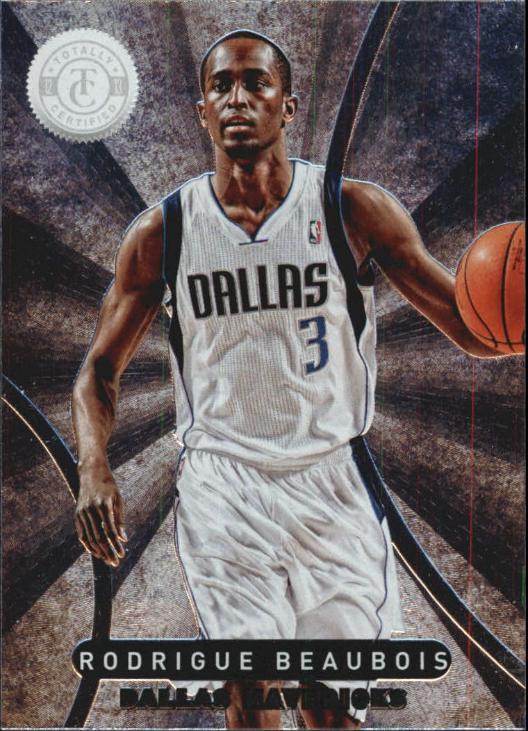 2012-13 Totally Certified #19 Rodrigue Beaubois