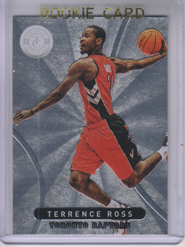 2012-13 Totally Certified #73 Terrence Ross RC