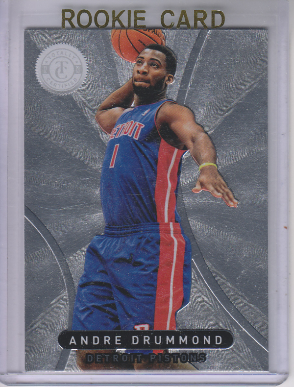 2012-13 Totally Certified #86 Andre Drummond RC