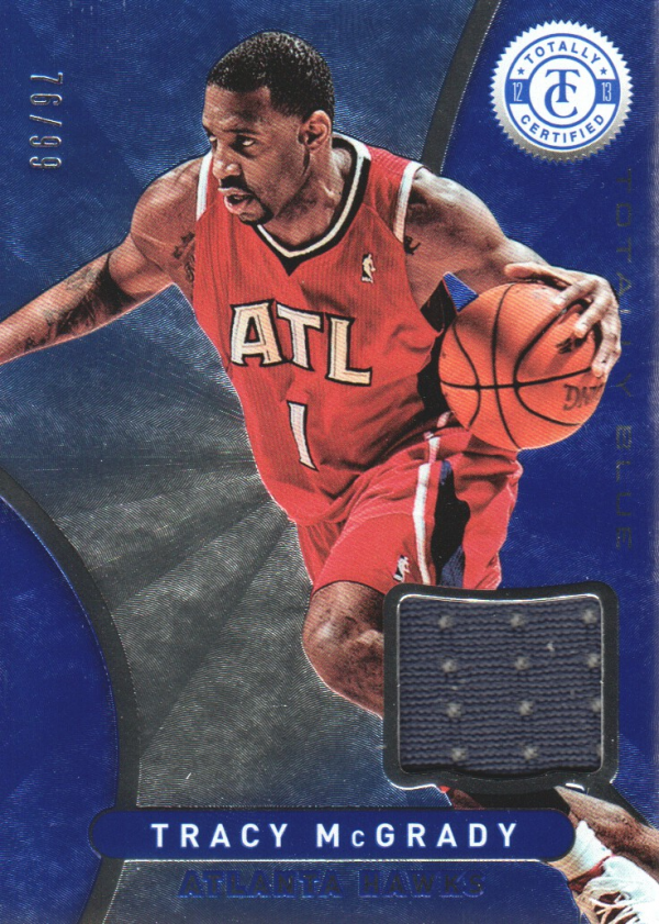 2012-13 Totally Certified Blue Materials #51 Tracy McGrady/99