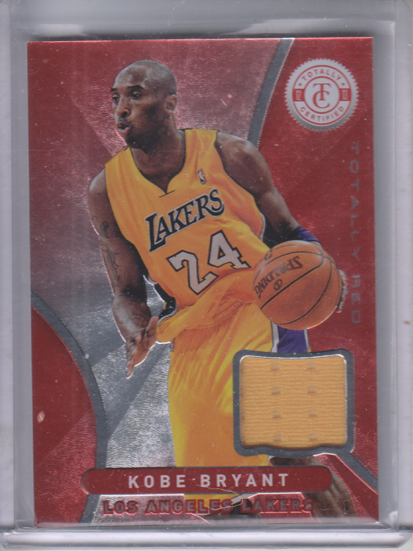 2012-13 Totally Certified Red Materials #1 Kobe Bryant