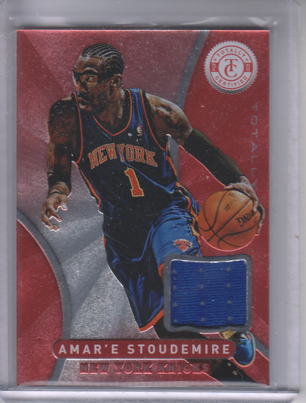 2012-13 Totally Certified Red Materials #6 Amare Stoudemire