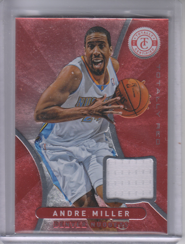 2012-13 Totally Certified Red Materials #7 Andre Miller