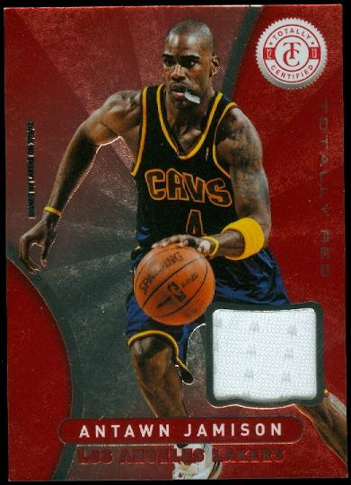 2012-13 Totally Certified Red Materials #8 Antawn Jamison