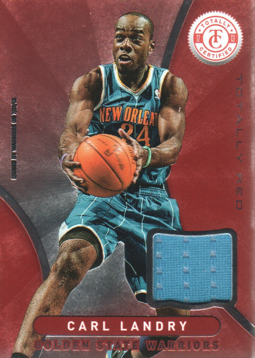 2012-13 Totally Certified Red Materials #10 Carl Landry