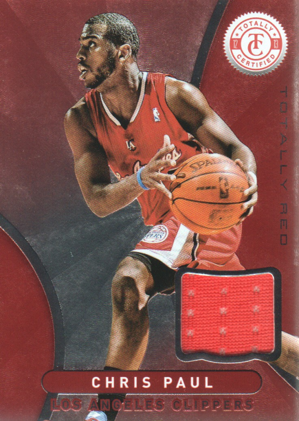 2012-13 Totally Certified Red Materials #13 Chris Paul