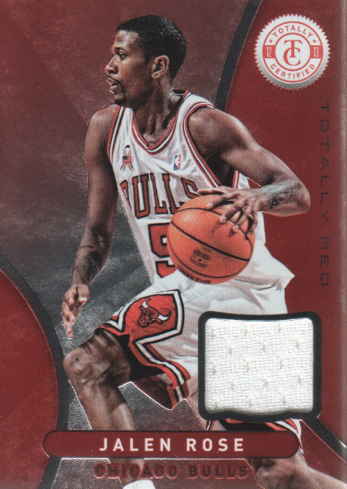 2012-13 Totally Certified Red Materials #21 Jalen Rose