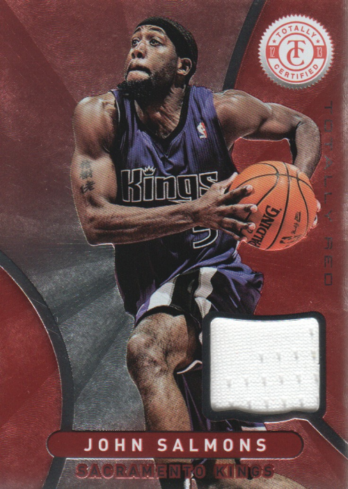 2012-13 Totally Certified Red Materials #26 John Salmons