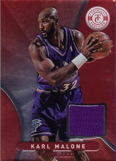 2012-13 Totally Certified Red Materials #28 Karl Malone