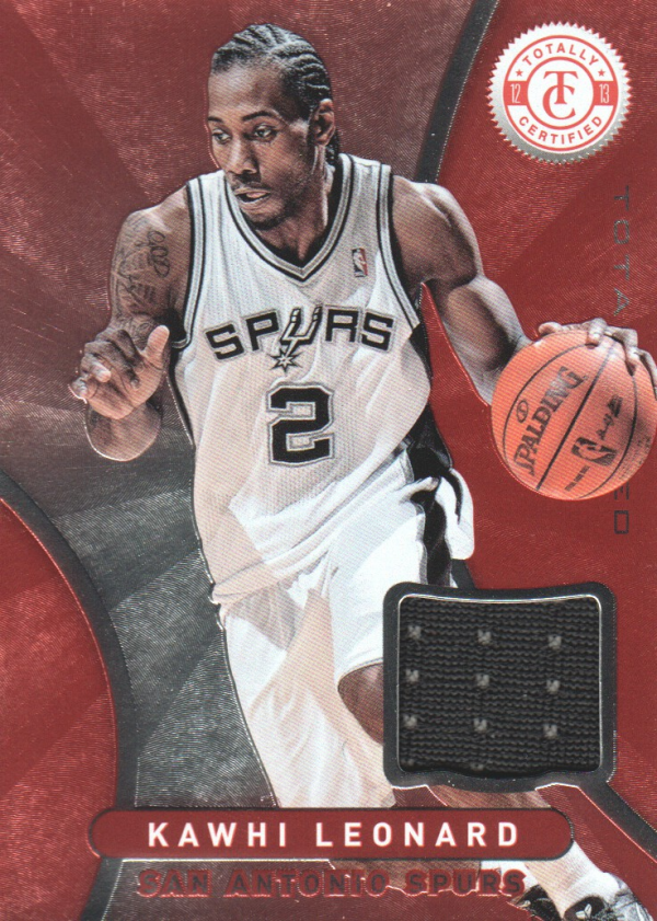 2012-13 Totally Certified Red Materials #29 Kawhi Leonard