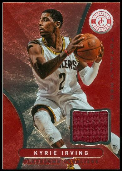 2012-13 Totally Certified Red Materials #30 Kyrie Irving