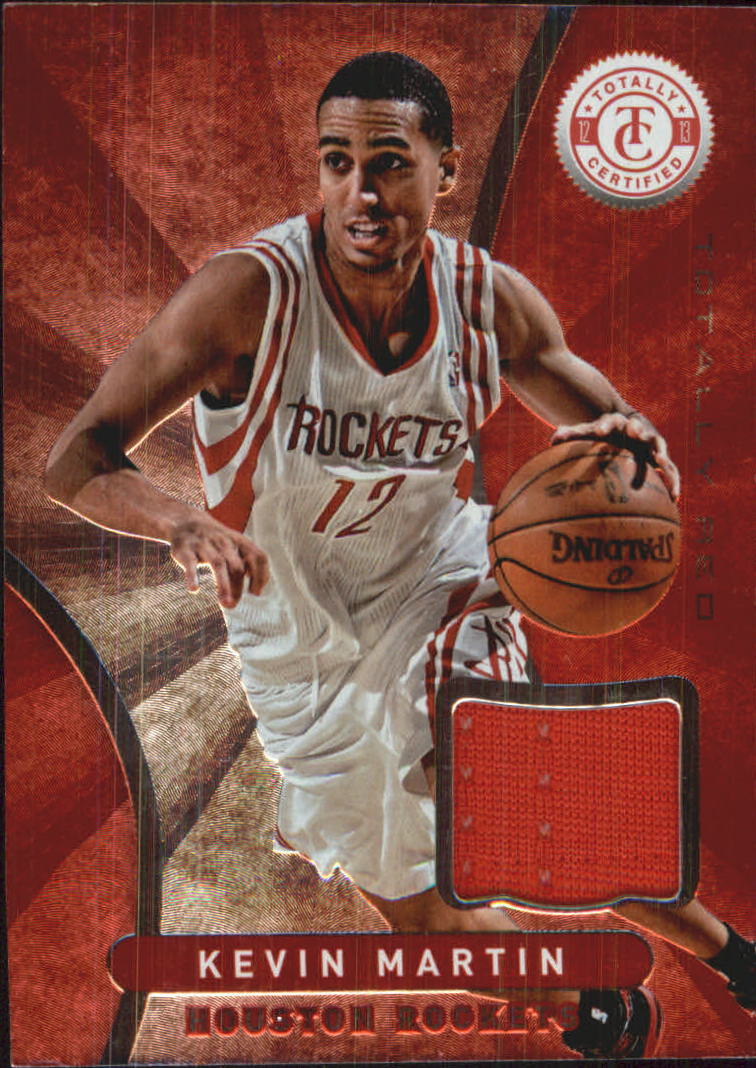 2012-13 Totally Certified Red Materials #32 Kevin Martin