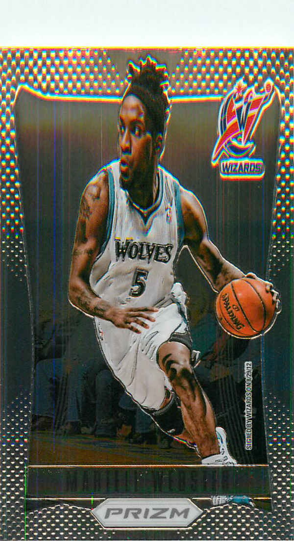 2012-13 Panini Prizm #21 Martell Webster