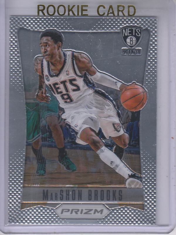 2012-13 Panini Prizm #202 MarShon Brooks RC