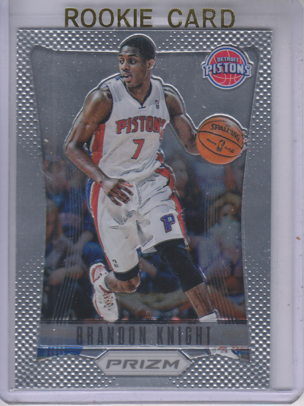 2012-13 Panini Prizm #207 Brandon Knight RC