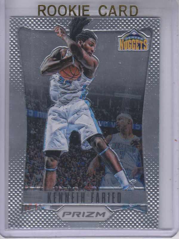 2012-13 Panini Prizm #208 Kenneth Faried RC