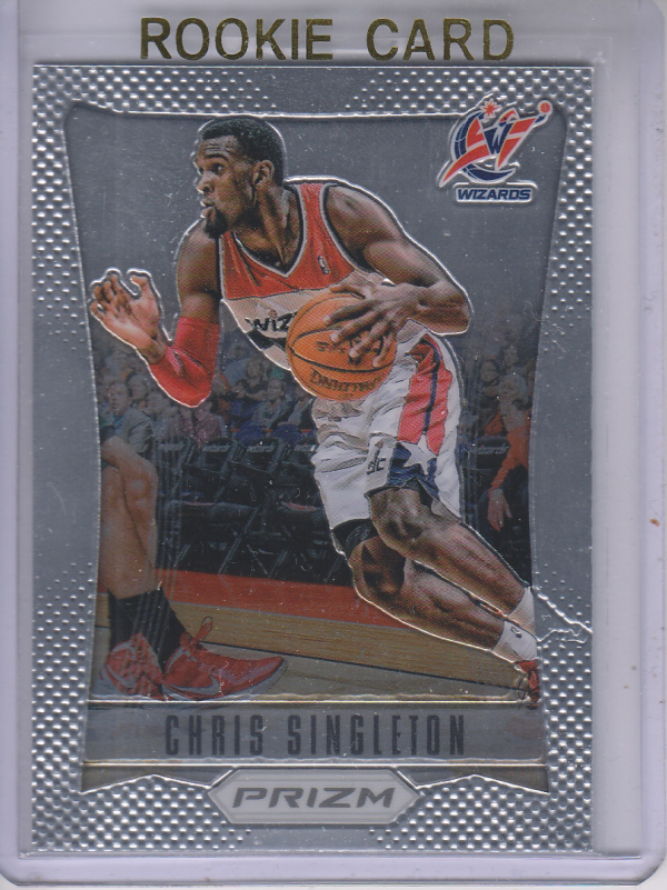 2012-13 Panini Prizm #220 Chris Singleton RC