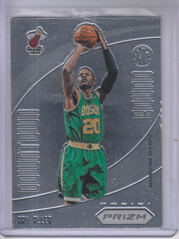 2012-13 Panini Prizm Downtown Bound #1 Ray Allen