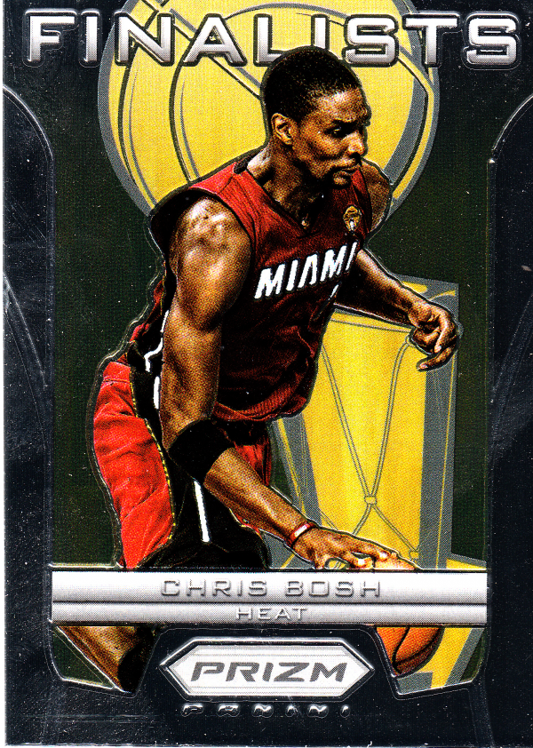 2012-13 Panini Prizm Finalists #18 Chris Bosh