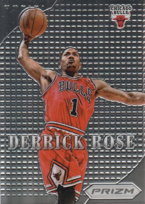 2012-13 Panini Prizm Most Valuable Players #2 Derrick Rose