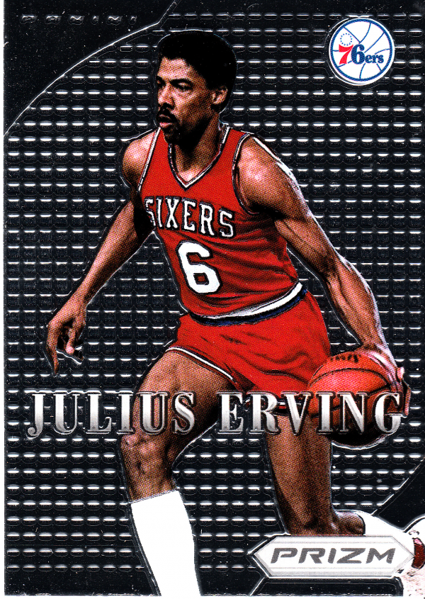 2012-13 Panini Prizm Most Valuable Players #16 Julius Erving