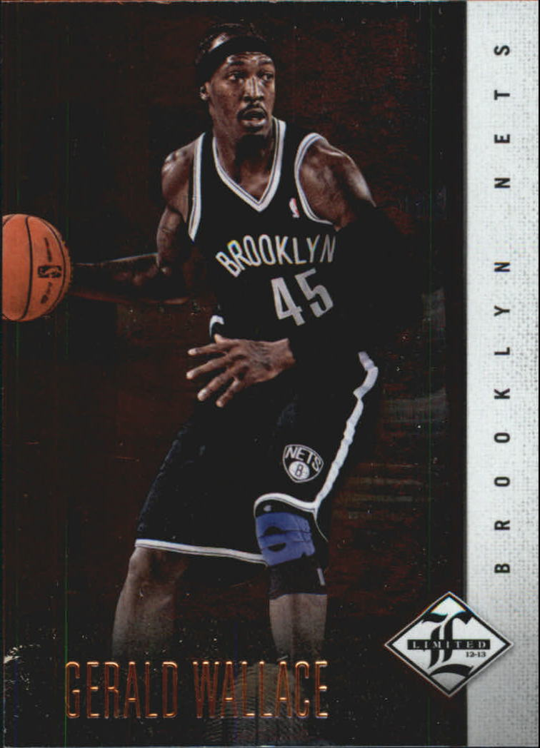 2012-13 Limited #9 Gerald Wallace