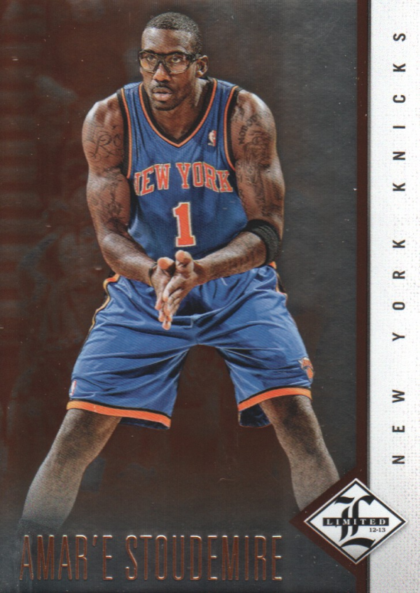 2012-13 Limited #12 Amare Stoudemire