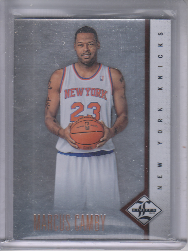 2012-13 Limited #16 Marcus Camby