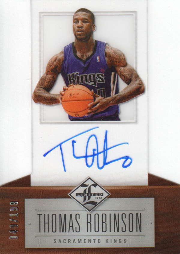 2012-13 Limited #151 Thomas Robinson AU/199 RC