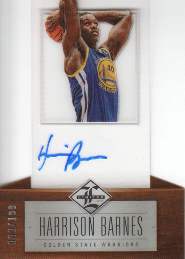 2012-13 Limited #152 Harrison Barnes AU/199 RC