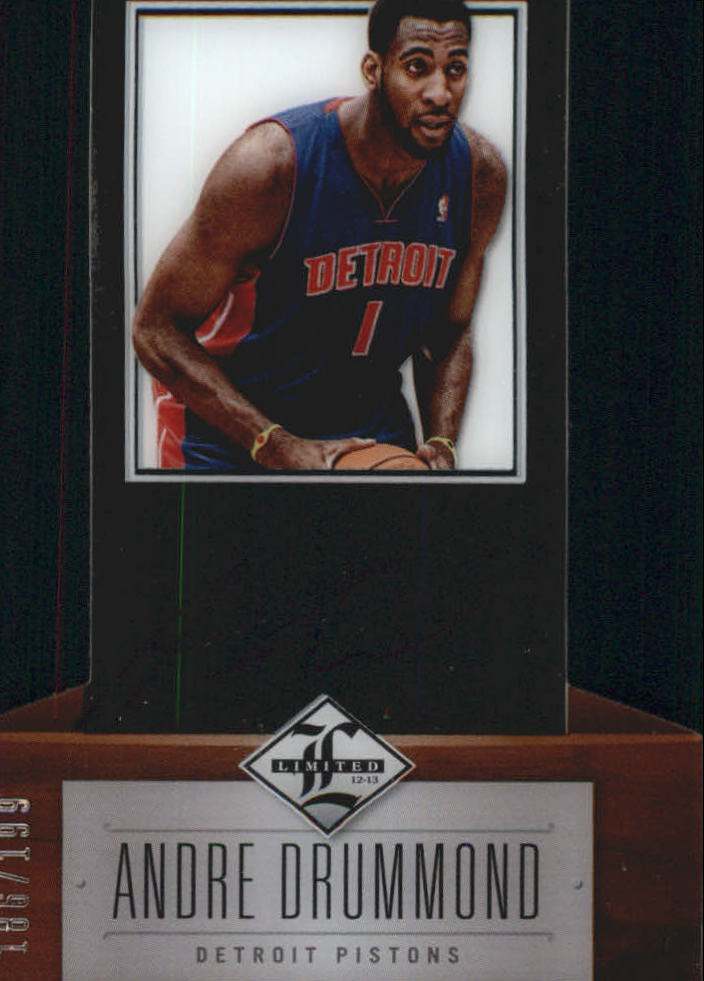 2012-13 Limited #166 Andre Drummond AU/199 RC