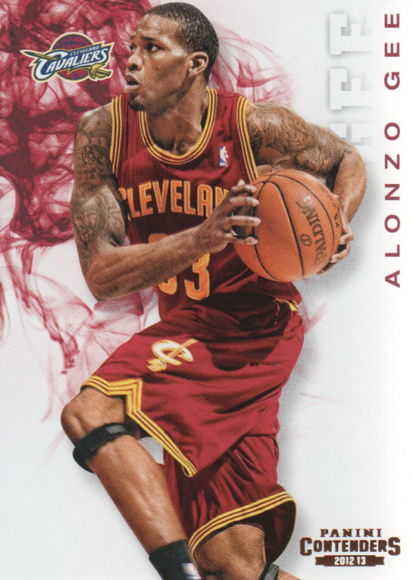 2012-13 Panini Contenders #4 Alonzo Gee