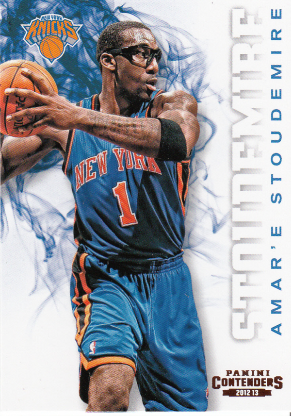 2012-13 Panini Contenders #5 Amare Stoudemire