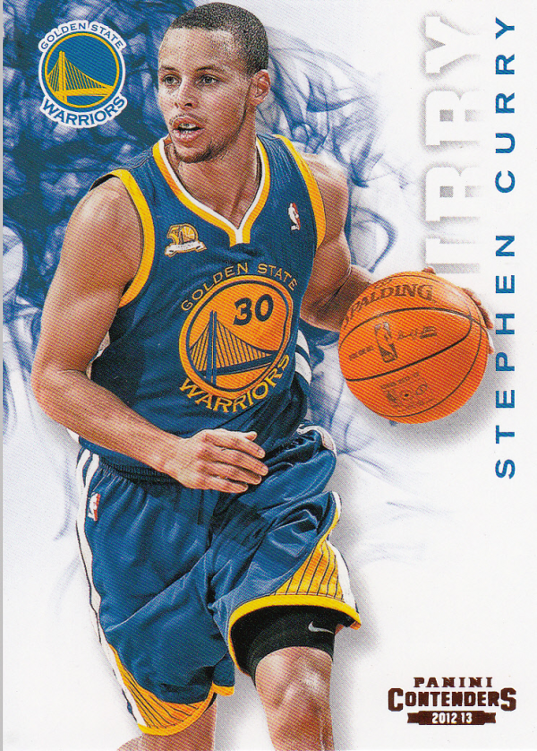 2012-13 Panini Contenders #24 Stephen Curry