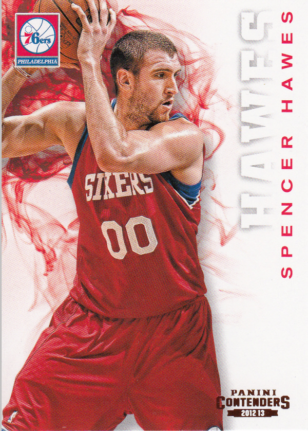 2012-13 Panini Contenders #25 Spencer Hawes