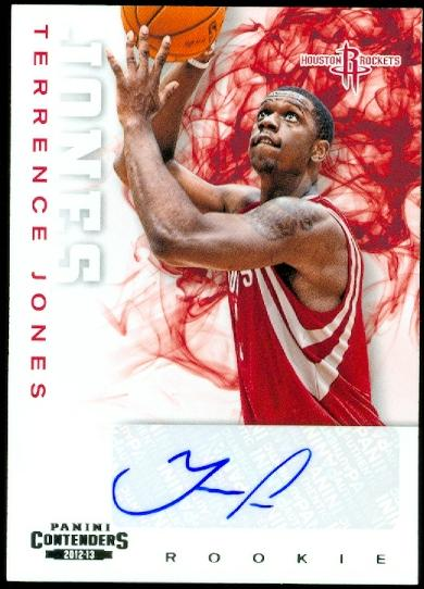 2012-13 Panini Contenders #217 Terrence Jones AU RC