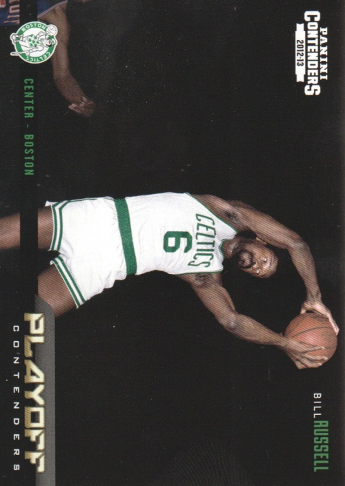 2012-13 Panini Contenders Playoff Contenders #23 Bill Russell