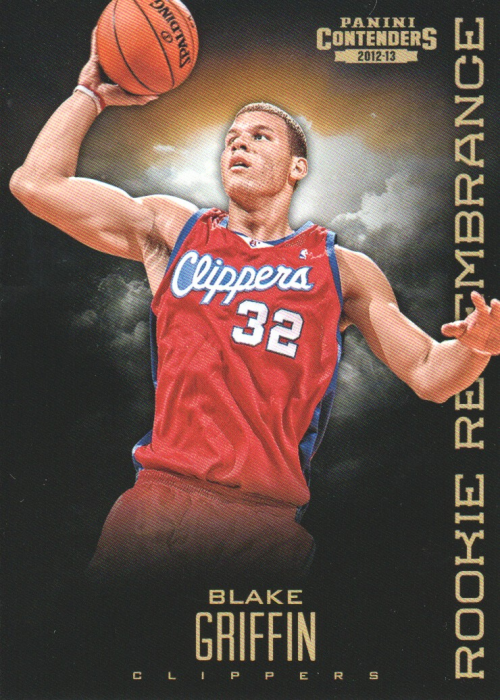 2012-13 Panini Contenders Rookie Remembrance #1 Blake Griffin