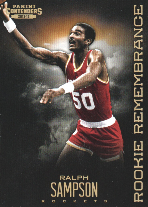 2012-13 Panini Contenders Rookie Remembrance #25 Ralph Sampson